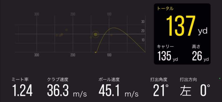 Golfboy弾道計測アプリ