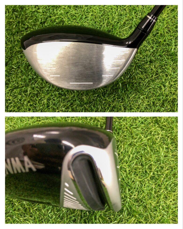 本間ゴルフXP-1 ヘッド形状2