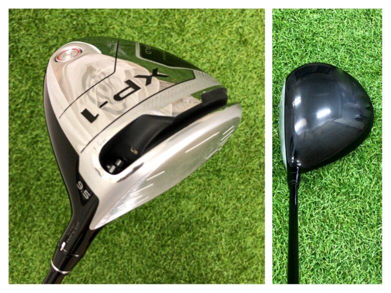 本間ゴルフXP-1 ヘッド形状1