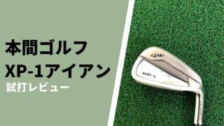 本間ゴルフ XP-1アイアン試打評価レビュー