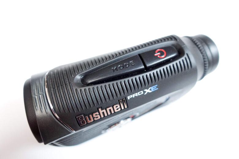 ブッシュネルプロXEジョルトのボタン