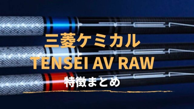 TENSEI AV RAW特徴&取扱い店