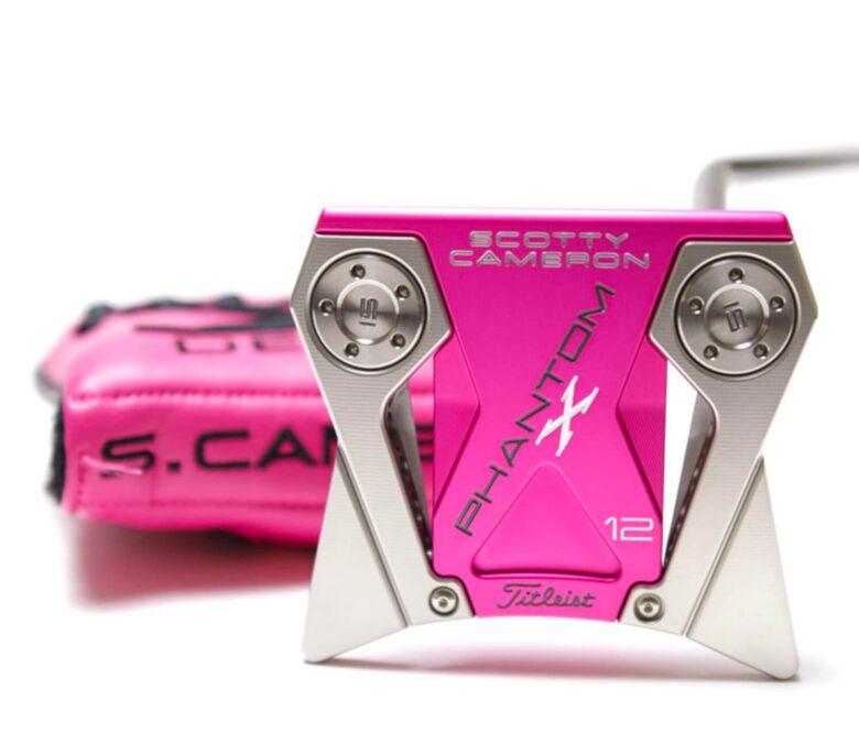 スコッティキャメロン Phantom Pink Moto Plusソール