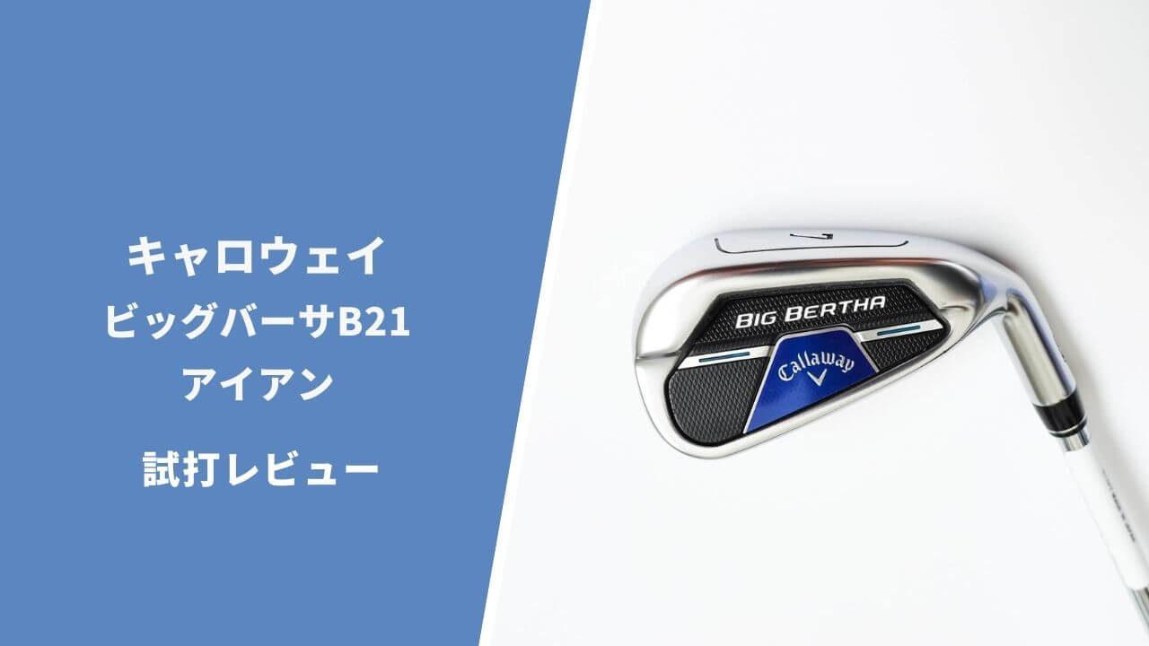ビッグバーサB21アイアン試打評価レビュー
