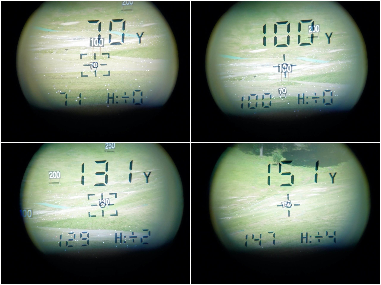 ゴルフバディaim L10V計測値まとめ