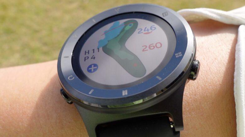 ボイスキャディ T6 時計型ゴルフナビ0024