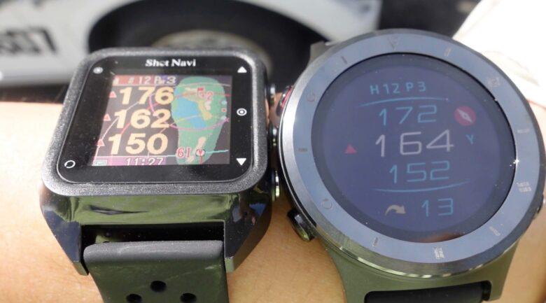 ボイスキャディ T6 時計型ゴルフナビ0023