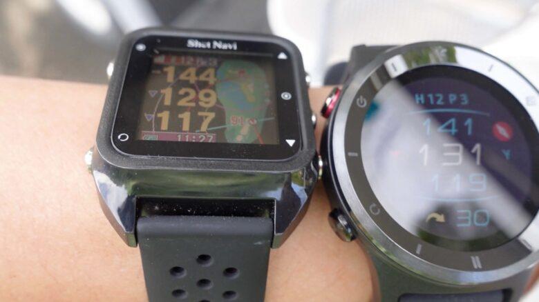 ボイスキャディ T6 時計型ゴルフナビ0018