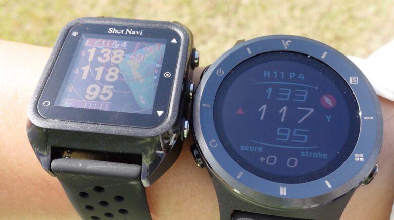 ボイスキャディ T6 時計型ゴルフナビ0021