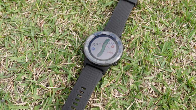 ボイスキャディ T6 時計型ゴルフナビ0025