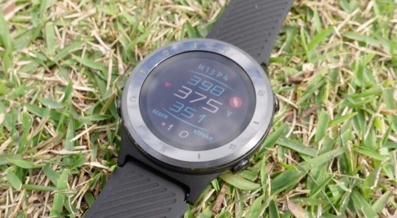 ボイスキャディ T6 時計型ゴルフナビ0026