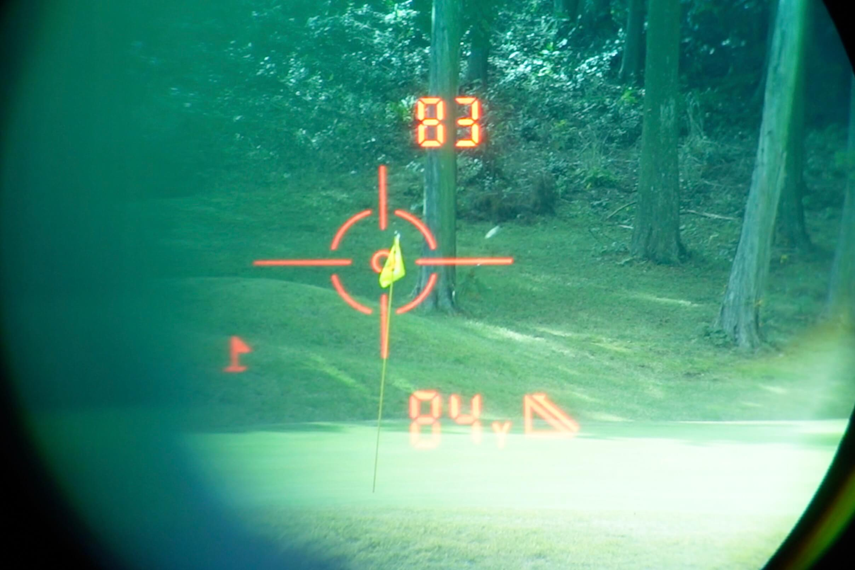 CaddyTalk Sniperラウンドテスト2