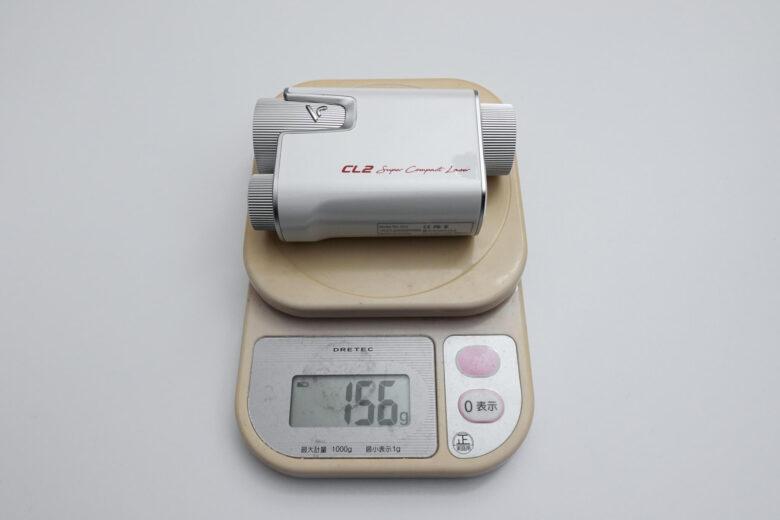 ボイスキャディCL2総重量