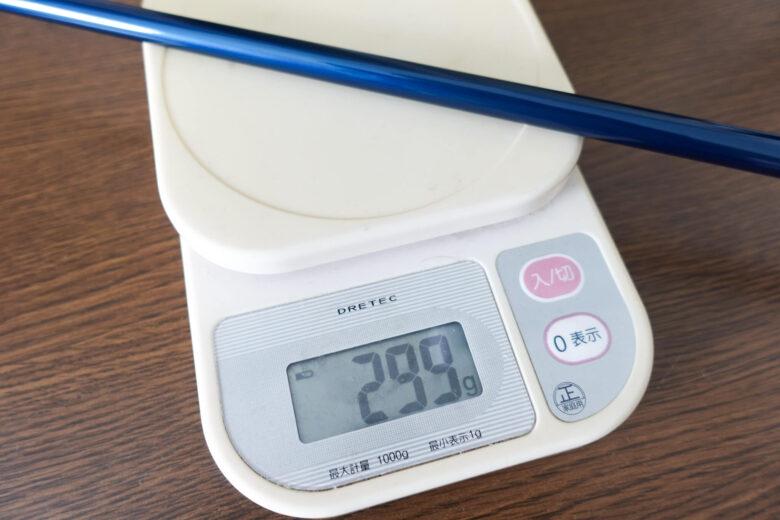テーラーメイドSIM2MAX総重量