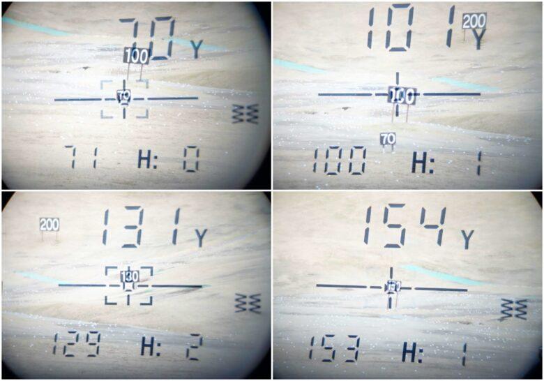 ボルビック レンジファインダV2計測比較まとめ