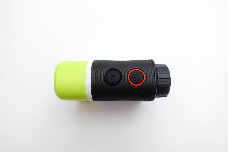 ボルビック レンジファインダV2ボタン