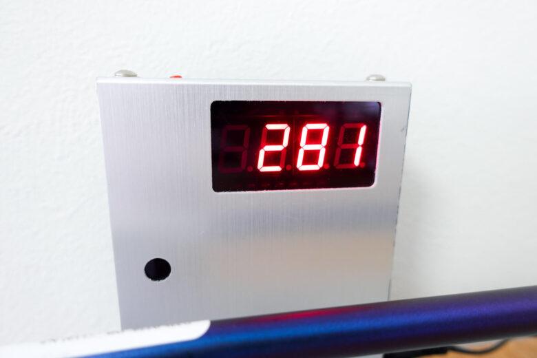 ヨネックスEZONE CB702フォージドアイアン振動数