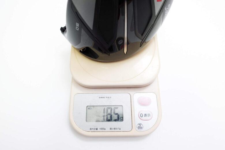 タイトリストTSi1ドライバーヘッド重量