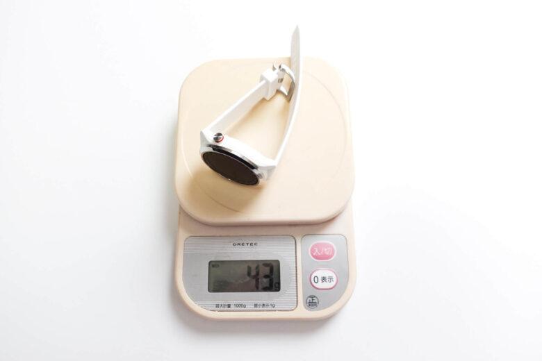ガーミン アプローチs42重量