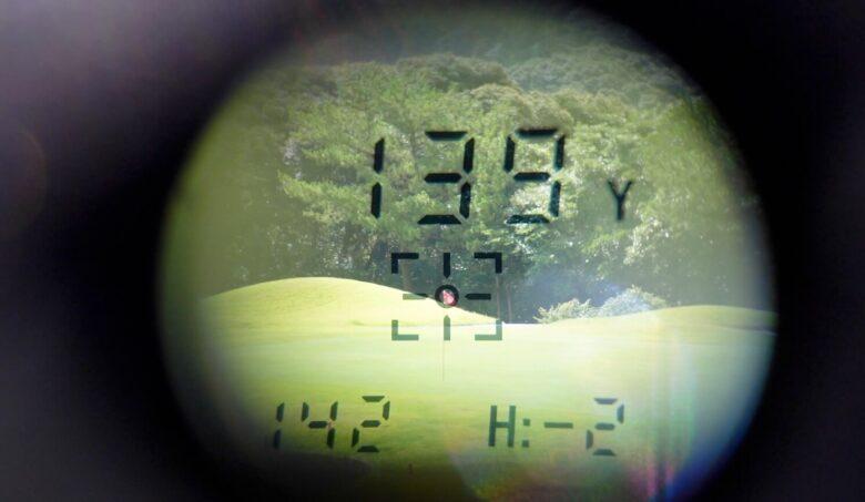 ゴルフバディaim L11精度③