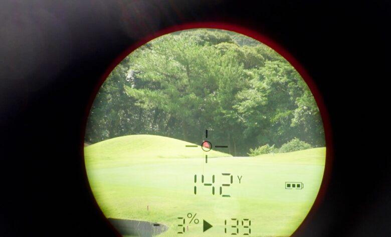 ゴルフバディaim L11精度④