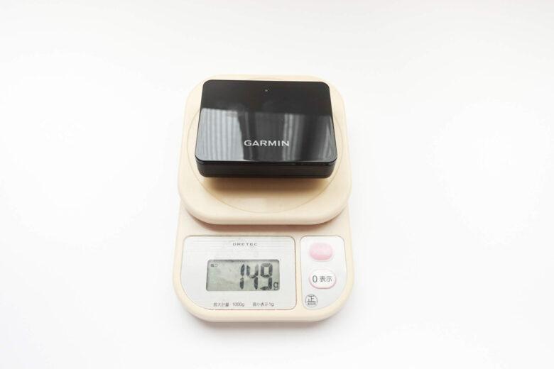 ガーミンApproachR10本体重量