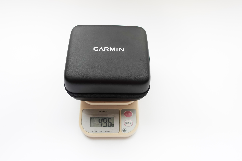 ガーミンApproachR10ケース含めて総重量