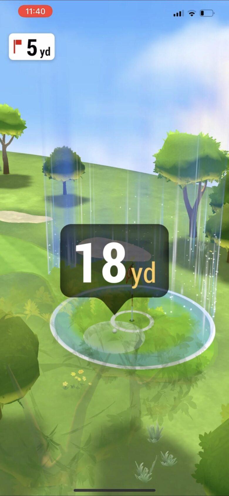 ガーミンApproachR10シミュレーションゴルフ②