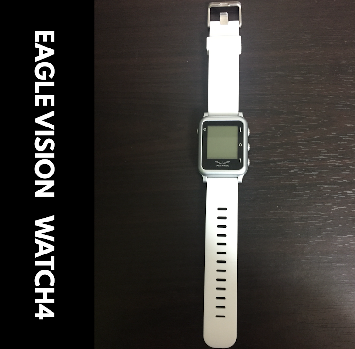 timeless design 50e68 f4a5d ゴルフナビ】腕時計型の『イーグルビジョン ウォッチ4』レビュー ...